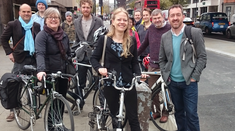 Greens in Southwark with Chris Boardman