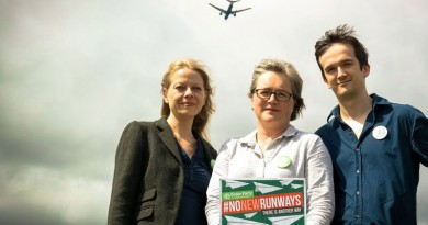 No new runways - Caroline, Sian and Tom