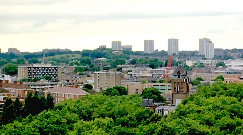 view of flats in Camden