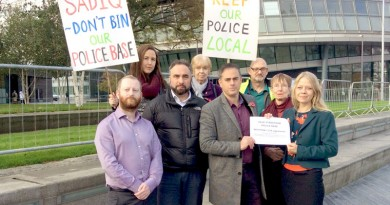 Streatham petitioners at City Hall
