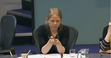 Sian Berry at Police and Crime Committee