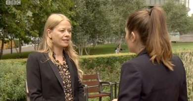 Sian Berry BBC cats report