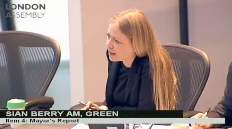 Sian Berry questions the Mayor about Vote Leave met investigation