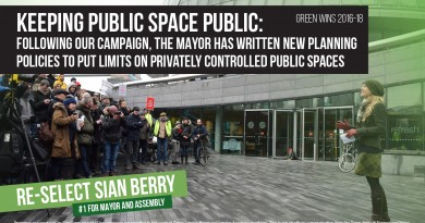 Keeping public spaces public