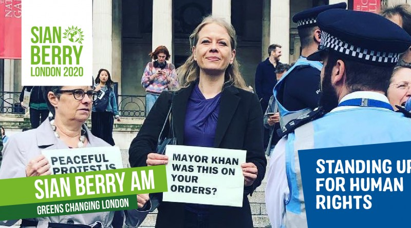 Sian Berry - standing up for human rights