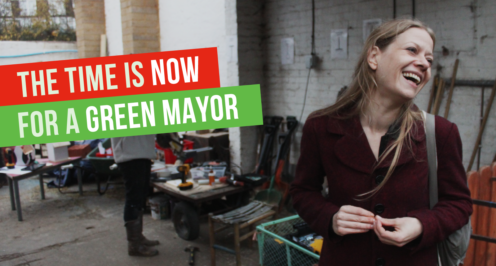 The Time is Now for a Green Mayor - at Kentish Town City Farm